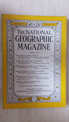 National Geographic- APRIL 1955,.Vol. CVII, No.4: SEA'S DARK UNDERWORLD