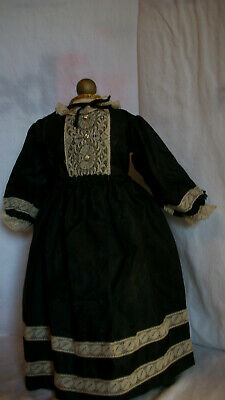 ANTIQUE STYLE DRESS FOR YOUR  GERMAN BISQUE OR CHINA HEAD DOLL  S 2