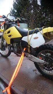 1994 Rmx 250 wrecking