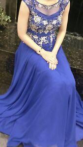 Prom Dress/ Braids Maid Dress/ Dress