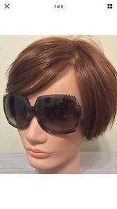 Burberry Sunglasses Oversized Butterfly Nova Check Case