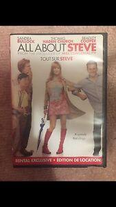 All about Steve DVD Tout sur Steve