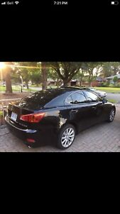 Black 2009 Lexus IS 250 AWD CERTIFIED & E-tested