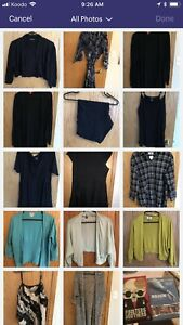 Bag of xl-1x ladies clothes