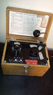 Leeds Northrup Ln Potentiometer Indicator Oak Box Pa