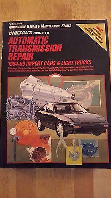 USED-Chilton 8053 Repair Manual 1984-89 Import Cars and Light Trucks
