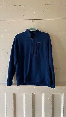 Patagonia Better Sweater Men's Fleece Jacket in Classic Navy - L