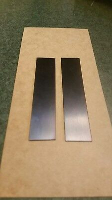 Blue Tempered Spring Steel Shim Stock 1x4 X 0.015 And 0.028 028 015 .015 .028