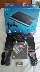 PS3 Super Slim with 320GB HDD, & Many Extras