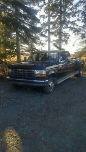 1993 FORD CREW CAB DUALLY
