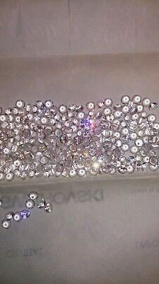 Swarovski vintage 24 chatons ss24 crystal unfoiled N°16