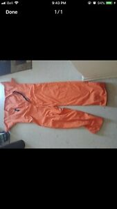 Real Jail Jumper Coveralls