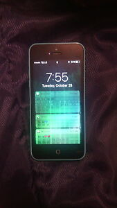 iphone 5c, screen needs to be replaced, $45!