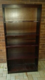 Timber Book Shelf Willoughby Willoughby Area Preview