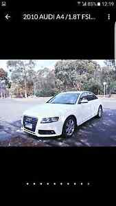 Audi A4 1.8 TFSi released on 9/2009 Dynnyrne Hobart City Preview
