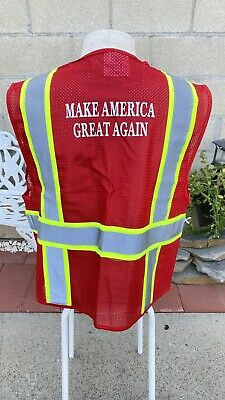 Make America Great Again Construction Safety Vest