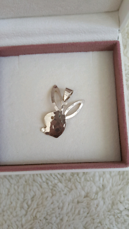 Genuine sterling silver Playboy jewellery