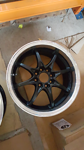 """Genuine set APIS SR08 by RAYS Engineering 15"""" 4x100 jdm wheels Castle Hill The Hills District Preview"""