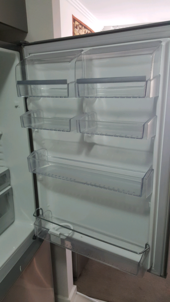 electrolux bottom mount stainless steel fridge 430l fridges u0026 freezers gumtree australia blacktown area blacktown