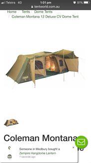 Coleman Montana 12 Tent  sc 1 st  Gumtree & 12 man Coleman tent | Camping u0026 Hiking | Gumtree Australia ...