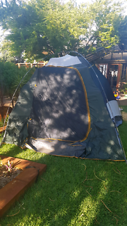 oztrail 6v dome tent with vestibule & Oztrail Highlander 6 Dome tent | Camping u0026 Hiking | Gumtree ...