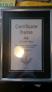 photo certificate frame a4 new