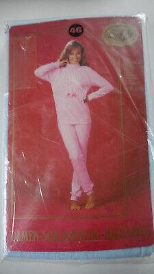 Original 70er Jahre Frottee Schlafanzug Hausanzug Gr. 46 - 70er Jahre Hausanzug