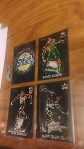 NRL CARDS 2016 TRADERS (LAST YEAR) CYBER HEROES Holt Belconnen Area Preview