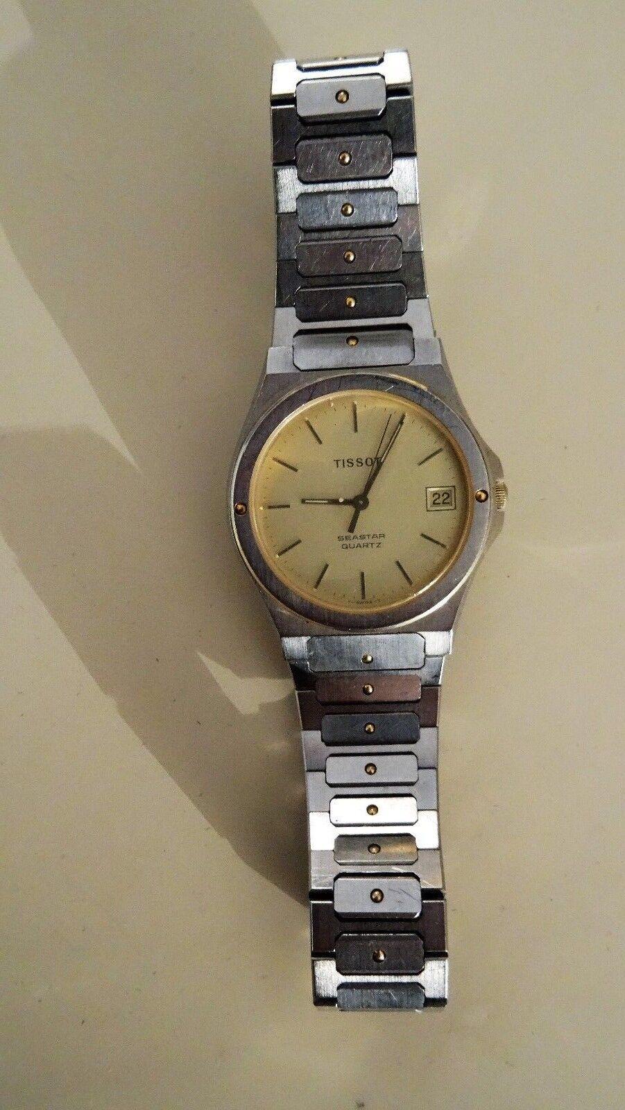 TISSOT Seastar - Orologio Uomo meccanico Vintage Uomo Svizzera Watch 60's