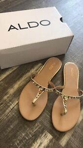 New in box Aldo sandals size 10