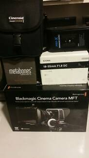 BLACKMAGIC CINEMA CAMERA FILM PACKAGE Acacia Gardens Blacktown Area Preview