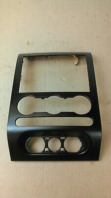 2004 - 2008 FORD F150 CENTER DASH TRIM RADIO CLIMATE CONTROL BEZEL BLACK, used for sale  North Versailles