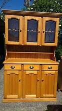 Buffet Hutch Dresser Display Cabnet + matching Sideboard Kenmore Brisbane North West Preview