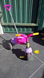 Children's tricycle with handle Daisy Hill Logan Area Preview