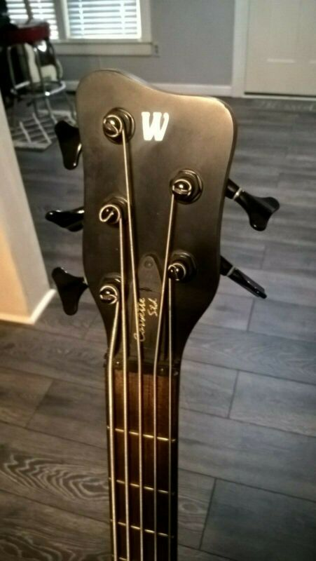 2006 Warwick Corvette Standard 5 string bass - Made in Germany