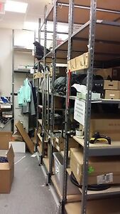 Industrial Pipp mobile shelving