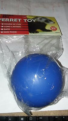 SPOT PET FERRET HOCKEY BALL TOY 1 PACK SMALL ANIMAL UPICK COLOR. FREE SHIP (Pet Ferret Ball)