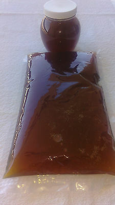 Raw wildflower honey, unfiltered & full of nutrients 24 lb@ $3.49/lb ships free