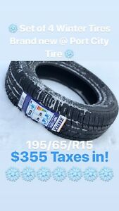 Brand new Zeetex Winter Tires (4)