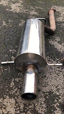 Subaru Impreza 2,0 R AWD GR 150hp exhaust centre silencer middlebox box