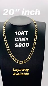 """10KT Gold Chain 20"""" inches"""