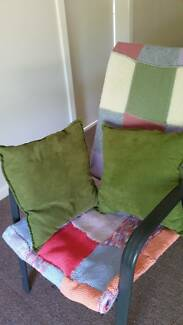 January 297#   Two Green Cushions $5