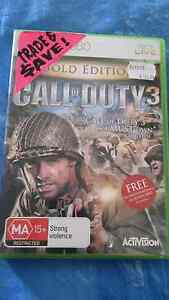 Call of Duty 3 Gold Edition For Xbox 360 Blacktown Blacktown Area Preview