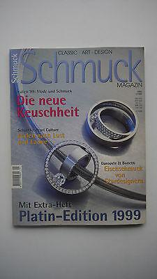 Schmuck Magazin 1/1999 - Classic Art Design - Platin Edition 1999