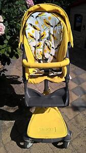 Yellow Stokke Stroller Lobethal Adelaide Hills Preview