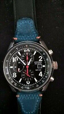 Citizen eco drive chronograph WR100 Tachymeter