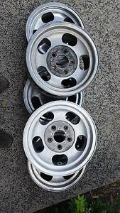5 x Holden 13x6 jelly bean cheviot rims Henley Beach Charles Sturt Area Preview