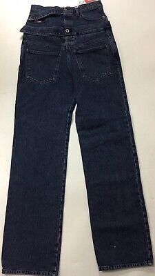 "Diesel Men 34"" Red Tag Shane Oliver Edtion High Waist Jeans $398 Blue Size 26"
