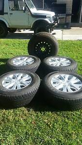 Mazda BT-50 4x4 rims and tyres Redland Bay Redland Area Preview