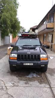 Jeep 4wd Grand Cherokee TSi 1998 (288.000km / 160.000km engine)